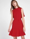 A-Line Dress With Tied Back