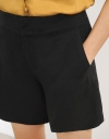 Mid-Rise Shorts With Pockets
