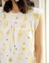 限定・刺繍シフトミディドレス