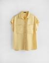 キャップスリーブシャツ