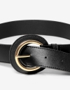Black Pin Buckle Belt