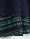 Contrast Hem Dress