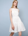Stripe Organza Dress