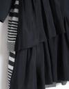 限定ギャザーヘムの長袖シャツドレス
