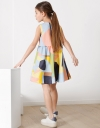 アブストラクトシャツドレス
