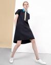 オーバーサイズシャツドレス