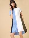 コンバインオーバーサイズシャツドレス