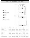 テーラード装飾ドレス