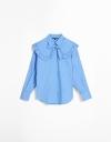 長袖コンバーチブルオーバーサイズシャツ