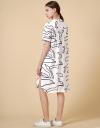 手刺繡チュニックシャツドレス
