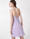 ストラップラップドレス