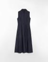 ミディシャツドレス
