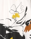 配置花柄シフトドレス