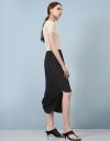 Sculpted Drape Skirt