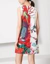 ジャングルプリントシフトドレス