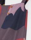 クロッププリントドレス