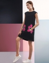 Sunflower Pockets Shift Dress