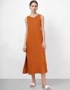 Tunic Midi Dress with Side Slit