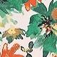 Green Florals(A10126)
