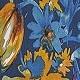 Blue Florals(A10126)
